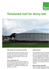 Genap - Tensioned Roof for Slurry Silo - Brochure