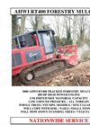 Tracked Mulchers AHWI RT400 Brochure