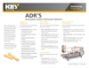 Model ADR 5 - Automatic Defect Removal System Brochure