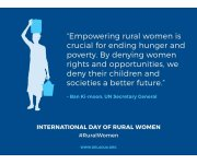 International Day of Rural Women 2015