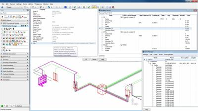Raceway Design and Cable Management Software-4