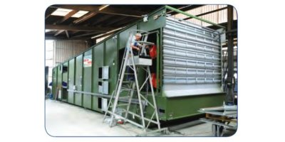 Continuous Double Flow Grain Driers