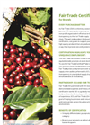 Fair Trade Certification Brochure