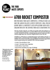 The Rocket - Model A700 - Rocket Food Waste Composter Datasheet