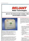 Royce Technologies Model 9300 Pond Monitoring System - Brochure