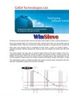 Version WinSieve - Grain Size Analysis Software Brochure