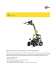 Model 804 - Telehandlers Brochure