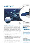 SS270W - 1kW - Twin Wide Beam Brochure
