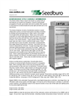 Seedburo - Achieva Basic Style Console Germinator Brochure