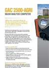 Dickey-john - Model GAC2500AGRI - Farm Moisture Tester - Brochure