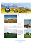 Land Application Services Datasheet