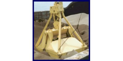 Model RH - 2 Rope Rehandling Clamshell Bucket