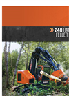 Barko - 240 - Harvester/Feller Buncher Brochure