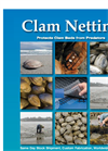 Clam Netting- Brochure