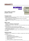 Agrónic - Model 2000 - Conventional Fertigation Controller Brochure