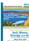 27th Soil, Water, Energy, and Air Annual International Conference Brochure