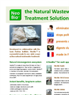 NeoBio Natural Wastewater Treatment - Brochure