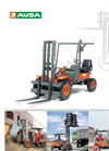 AUSA - Model C 11 M - Rough Terrain Forklift - Brochure