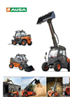 AUSA - Model T144 Plus - Telehandler Taurulift - Brochure