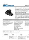 BEI - Model 9970 - Shafted Rotary Hall Effect Sensor Datasheet