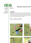 Stainless Steel Turf Profiler - Datasheet
