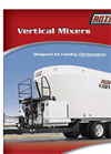 Model 625, 745, 865, 1105, 1355 & 1505 - Vertical Mixers Brochure