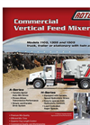 Model 1105H, 1355H and 1505H - Vertical Mixers Brochure