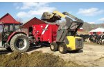 Model 315, 415 and 515 - Single Auger Trailer Mixers