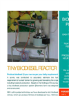 Mini Biodiesel reactor from CJP