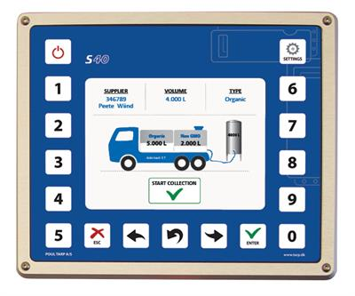 Poul-Tarp - S40 - Dairy - Milk Collection - Data Acquisition and