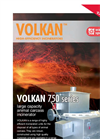 Volkan - Model 750 - Large Capacity Animal Carcass Incinerator – Brochure