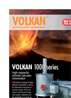Volkan - 1000 Series - Large-Capacity Animal Carcass Incinerator – Brochure