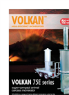 Volkan - 75 - Super - Compact Animal Carcass Poultry Incinerator Datasheet