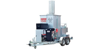 HURIKAN - Model 150 - Advanced Mobile Animal Carcass Incinerator