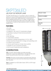 MaxLite - SKPT36LED - LED Post Top Retrofit Lamp Spec Sheet