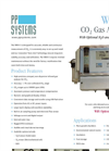 Model WMA-5 CO2 Gas Analyzer Datasheet