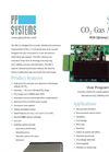 Model SBA-5 CO2 Gas Analyzer Datasheet