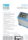 CIRAS Model 3 DC CO2/H2O Gas Analyzer Datasheet