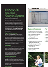UniSpec Model SC Spectral Analysis System Datasheet