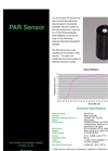 Photosynthetically Active Radiation (PAR) Sensor Datasheet