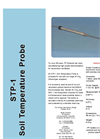 Model STP-1 Soil Temperature Probe Datasheet