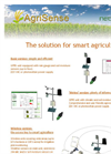 AgriSense smart agriculture monitoring