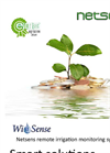 WiSense smart remote irrigation system brochure