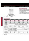 Rice Lake - Model TA Series - Analytical Weighing Systems Specifications