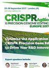 CRISPR AgBio Congress 2017 Brochure