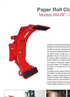 BOLZONI - Model AM-RF / AM-RH - Paper Roll Clamps - Brochure