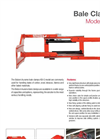 BOLZONI - Model KB-G - Pulp Bale Clamps - 1000 Kg - 4000 Kg - Brochure