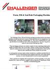 Challenger Form Fill & Seal Bale Packaging Machines  - Brochure