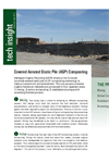 Covered Aerated Static Pile (ASP) Composting Brochure