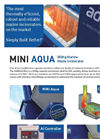 Addfield Mini Aqua Aquaculture Waste Incinerator(350Kg) - Full Specification Sheet